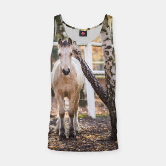 Thumbnail image of Autumn horse Tank Top, Live Heroes
