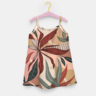 Miniature de image de Abstract nature autumn 9 Vestido para niñas, Live Heroes