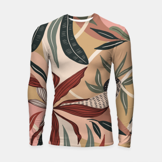 Miniature de image de Abstract nature autumn 9 Longsleeve rashguard, Live Heroes