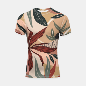 Miniature de image de Abstract nature autumn 9 Shortsleeve rashguard, Live Heroes