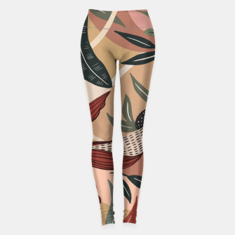 Miniature de image de Abstract nature autumn 9 Leggings, Live Heroes