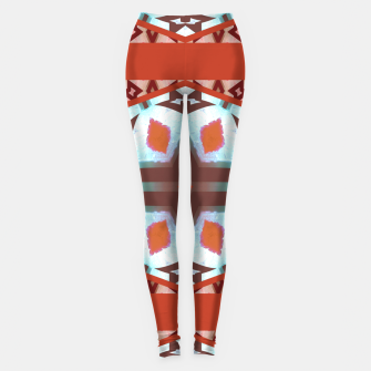Thumbnail image of Computer Graphics Leggings, Live Heroes