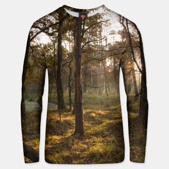 Thumbnail image of sunny forest Bluza unisex, Live Heroes