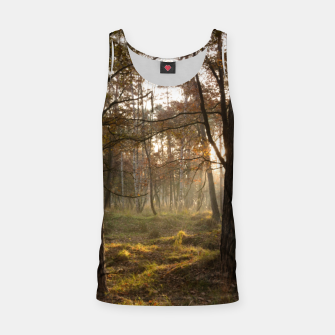 Thumbnail image of sunny forest Tank Top, Live Heroes