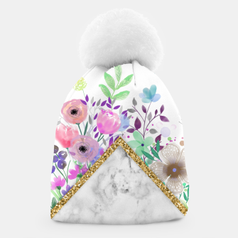Thumbnail image of MINIMAL GOLD MARBLE BOUQUET Gorro, Live Heroes