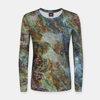 Thumbnail image of Mushrust Frauen sweatshirt, Live Heroes