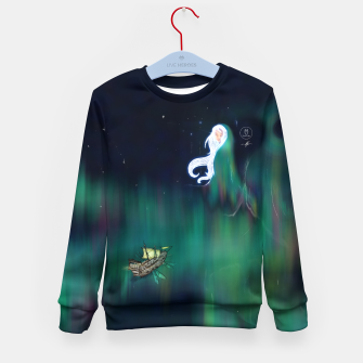 Thumbnail image of Aurora Kid's sweater, Live Heroes