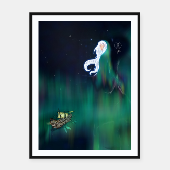 Thumbnail image of Aurora Framed poster, Live Heroes