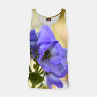 Thumbnail image of autumn blue flower Tank Top, Live Heroes