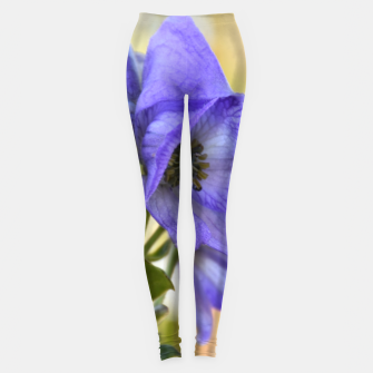 Thumbnail image of autumn blue flower Legginsy, Live Heroes