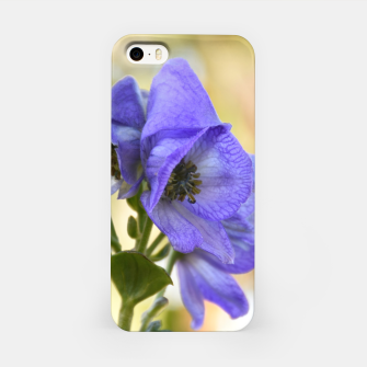 Thumbnail image of autumn blue flower Obudowa iPhone, Live Heroes