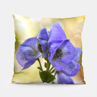 Thumbnail image of autumn blue flower Poduszka, Live Heroes