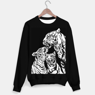 Thumbnail image of tiger family sweater, Live Heroes