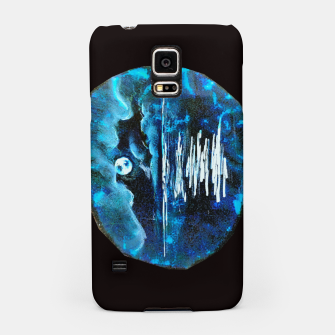Moon brain art for paratissima 19 Yulia A Korneva mri immage Samsung Case thumbnail image