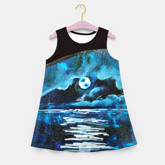 Moon brain art for paratissima 19 Yulia A Korneva mri immage Girl's summer dress thumbnail image
