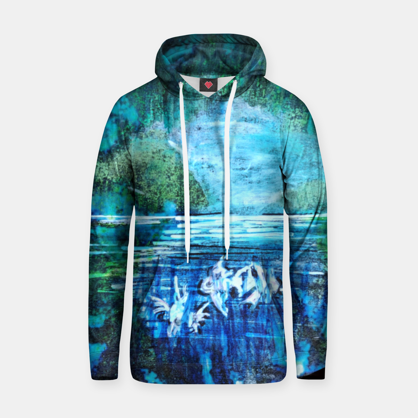 Image of lost and found world 2 brain art for paratissima 19 Yulia A Korneva mri immage Hoodie - Live Heroes
