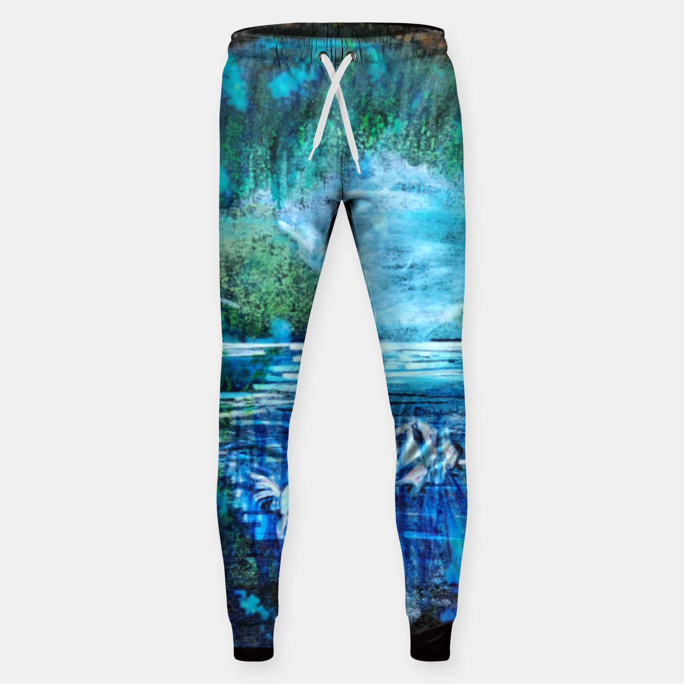 Image of lost and found world 2 brain art for paratissima 19 Yulia A Korneva mri immage Sweatpants - Live Heroes