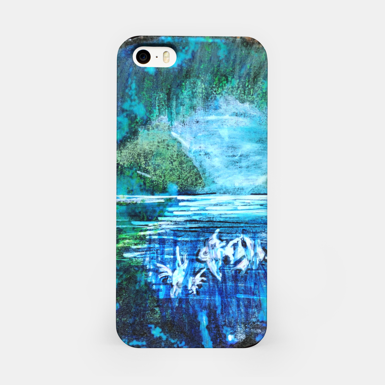 Image of lost and found world 2 brain art for paratissima 19 Yulia A Korneva mri immage iPhone Case - Live Heroes