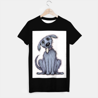 Thumbnail image of Blue dog T-shirt regular, Live Heroes