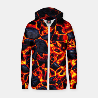 Thumbnail image of Burning in desires  Sudadera con capucha y cremallera , Live Heroes