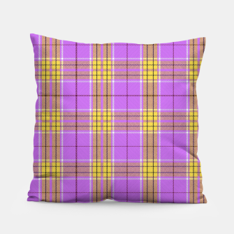 Thumbnail image of TARTAN COLOURS 2 Pillow, Live Heroes