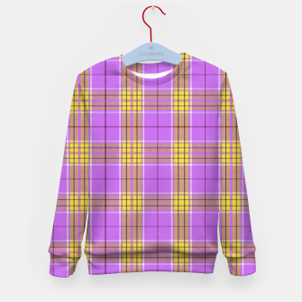 Thumbnail image of TARTAN COLOURS 2 Kid's sweater, Live Heroes