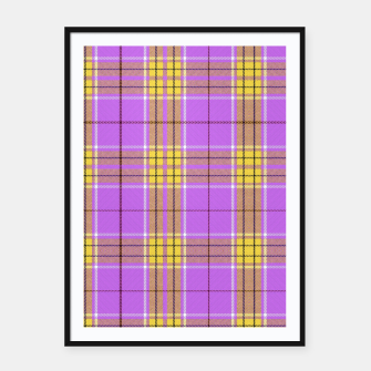 Thumbnail image of TARTAN COLOURS 2 Framed poster, Live Heroes