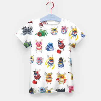 Thumbnail image of Kids Pop Bees Tshirt, Live Heroes