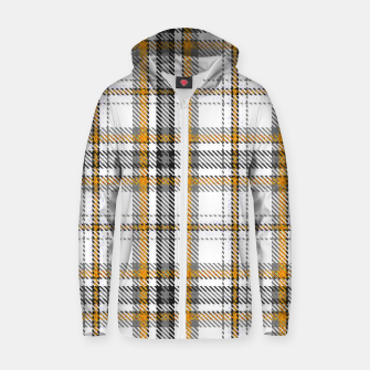 TARTAN COLOURS 3 Zip up hoodie Bild der Miniatur