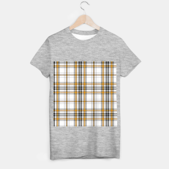 TARTAN COLOURS 3 T-shirt regular Bild der Miniatur