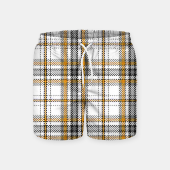 TARTAN COLOURS 3 Swim Shorts Bild der Miniatur