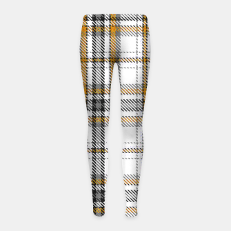 TARTAN COLOURS 3 Girl's leggings Bild der Miniatur
