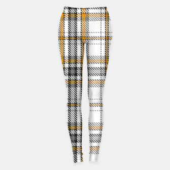 TARTAN COLOURS 3 Leggings Bild der Miniatur
