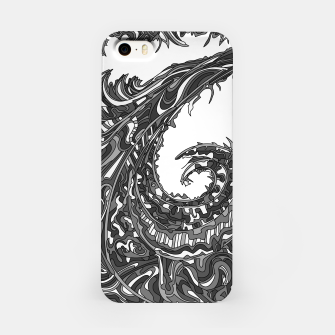 Thumbnail image of Wandering 23: grayscale iPhone Case, Live Heroes