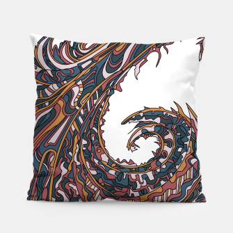 Thumbnail image of Wandering 23: color variation 1 Pillow, Live Heroes