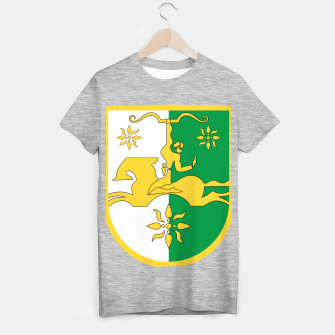 Miniaturka Coat of arms of Abkhasia T-shirt regular, Live Heroes