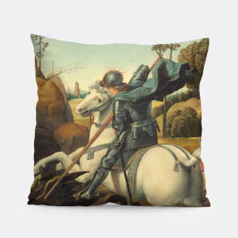 Miniaturka Raphael-Saint George and the Dragon Pillow, Live Heroes