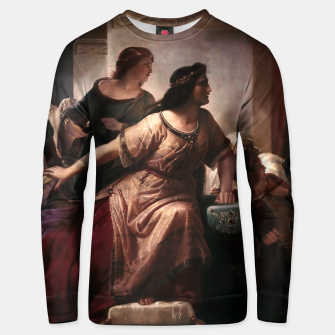 Thumbnail image of Semiramis by Christian Köhler Old Masters Reproductions Unisex sweater, Live Heroes
