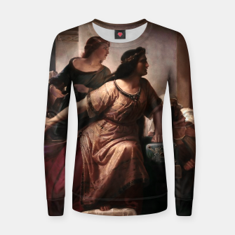 Thumbnail image of Semiramis by Christian Köhler Old Masters Reproductions Women sweater, Live Heroes