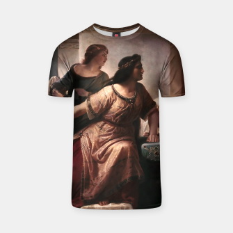 Thumbnail image of Semiramis by Christian Köhler Old Masters Reproductions T-shirt, Live Heroes