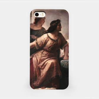 Thumbnail image of Semiramis by Christian Köhler Old Masters Reproductions iPhone Case, Live Heroes