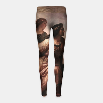 Thumbnail image of Semiramis by Christian Köhler Old Masters Reproductions Girl's leggings, Live Heroes