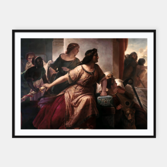 Thumbnail image of Semiramis by Christian Köhler Old Masters Reproductions Framed poster, Live Heroes