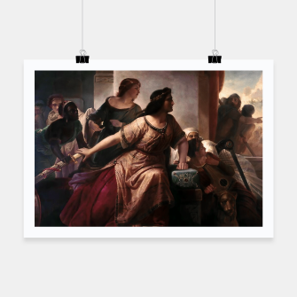 Thumbnail image of Semiramis by Christian Köhler Old Masters Reproductions Poster, Live Heroes