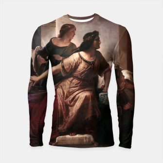 Thumbnail image of Semiramis by Christian Köhler Old Masters Reproductions Longsleeve rashguard , Live Heroes