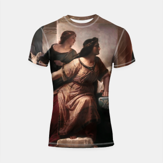 Thumbnail image of Semiramis by Christian Köhler Old Masters Reproductions Shortsleeve rashguard, Live Heroes