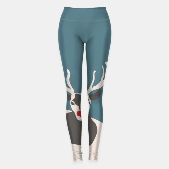 I Hate Christmas Leggings Bild der Miniatur