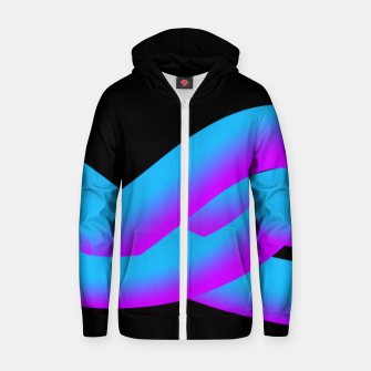 Thumbnail image of trance Zip up hoodie, Live Heroes