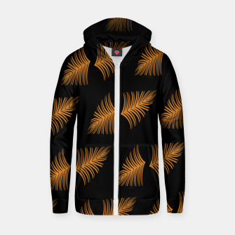 Thumbnail image of Gold leaf  Sudadera con capucha y cremallera , Live Heroes