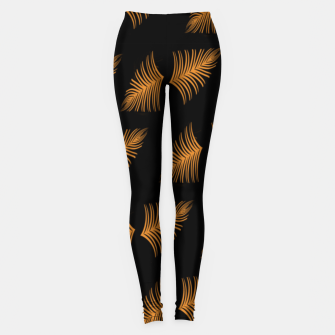 Gold leaf  Leggings miniature